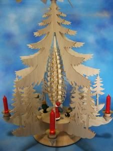 Santa and Toys Candle Pyramid $359.00 (USD)