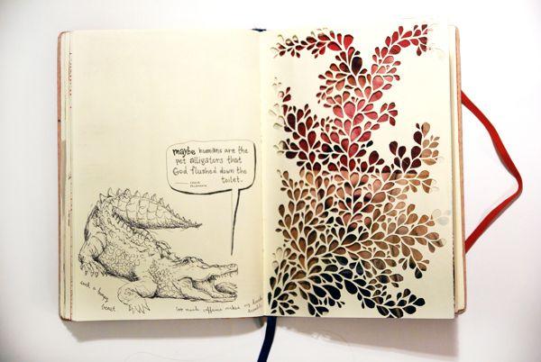 Sketchbook By Mari Iwahara Via Behance With Images Sketch