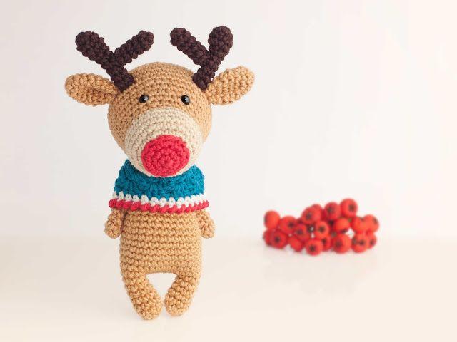 Renito   Navidad   Pinterest   Reno, Ganchillo y Amigurumi