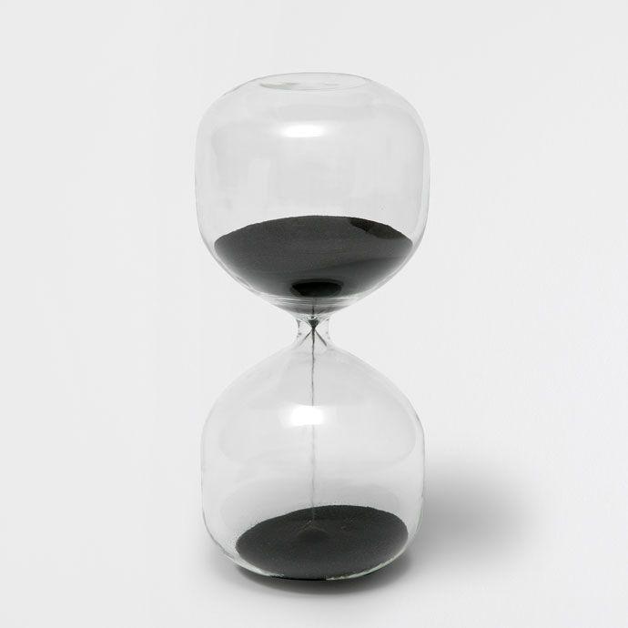 Black hourglass - Decoration Accessories - Decoration | Zara Home United States of America