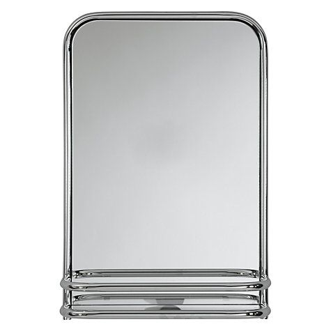 Buy John Lewis Restoration Bathroom Wall Mirror with Shelf
