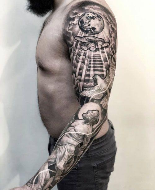 How To Choose A Tattoo Artist Christian Sleeve Tattoo Tattoo