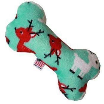 Interactive Dog Toys Exercise Plush Bone Dog Toy Reindeer Folly