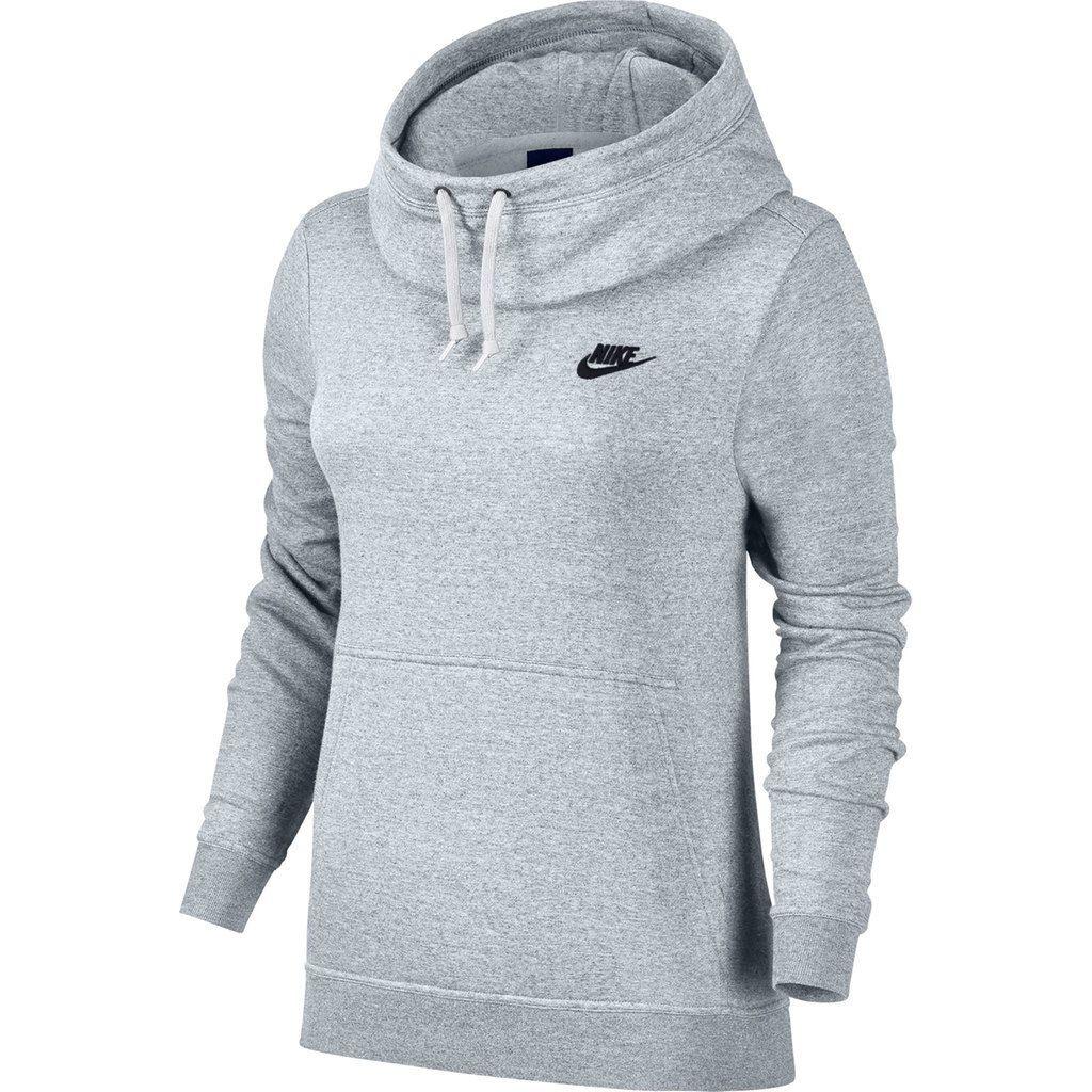 1ff2461fd761a9 Women s Nike Sportswear Funnel Neck Fleece Pullover Hoodie ...