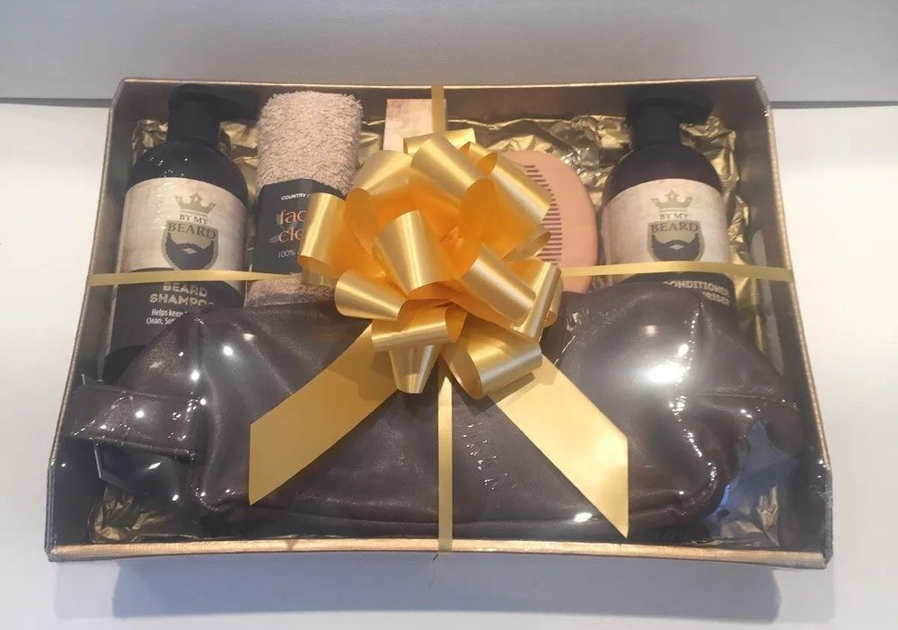 Gift Basket Hamper For Him Mens Idea Dad Son Husband Brother Grandad Uncle