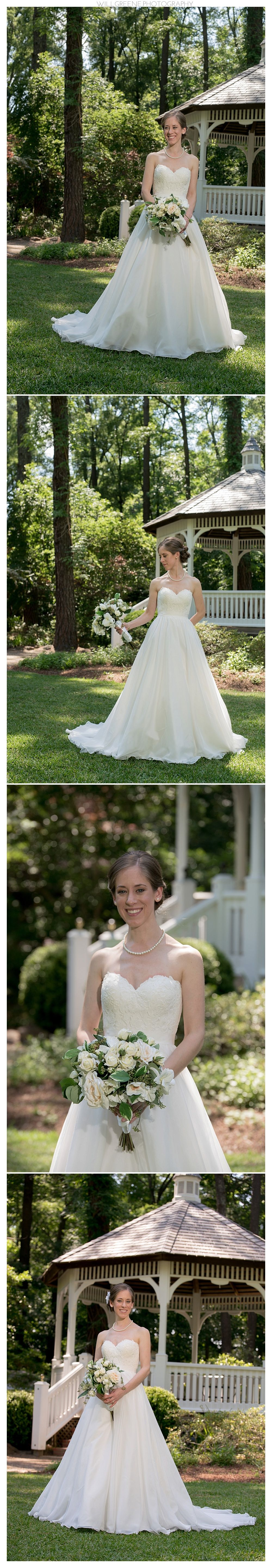 Erin's Cape Fear Botanical Garden bridal session