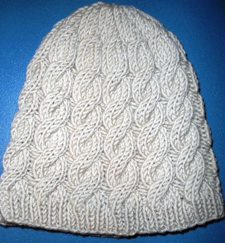 Easy Knitting Patterns | Cable Hat knitting pattern | Felt ...
