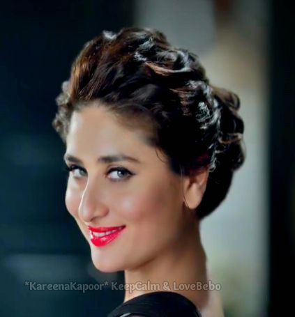 Kareena Kapoor Hot In Qmobile Ads 2014 Messy Hairstyles Bollywood Celebrities Bollywood Heroine