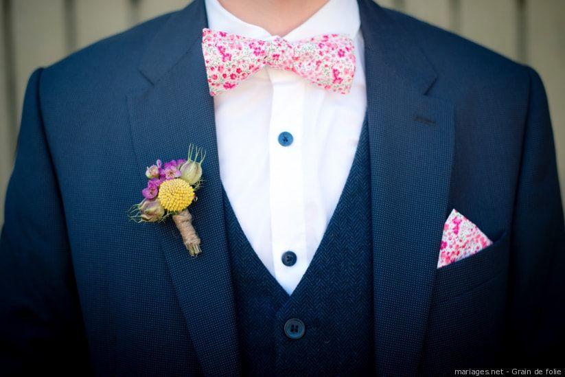 Super Cravate ou nœud papillon pour le marié : quel accessoire choisir YF-22