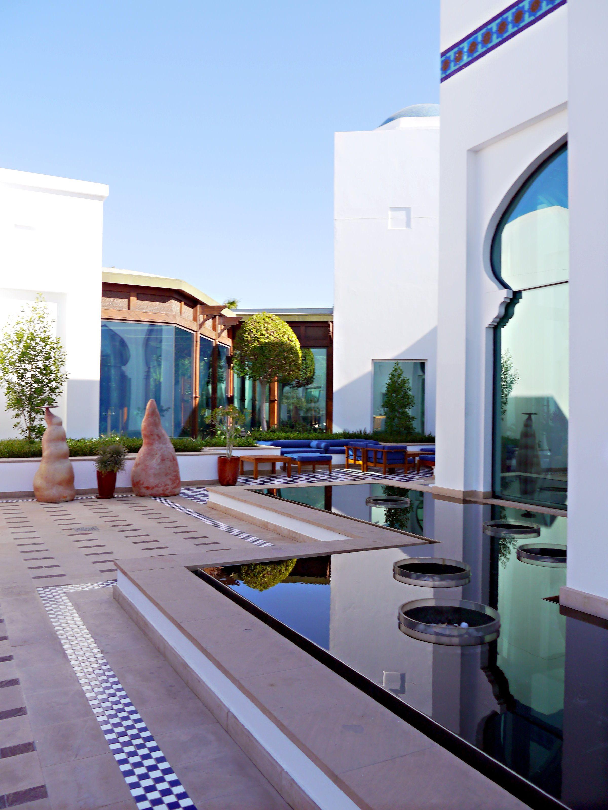 Grounds Park Hyatt Dubai Designed By Creative Kingdom Inc V Chedi Hotel Architecture Moorish Design