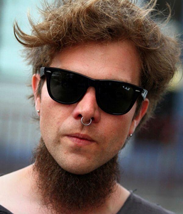 Neckbeard cool beard style