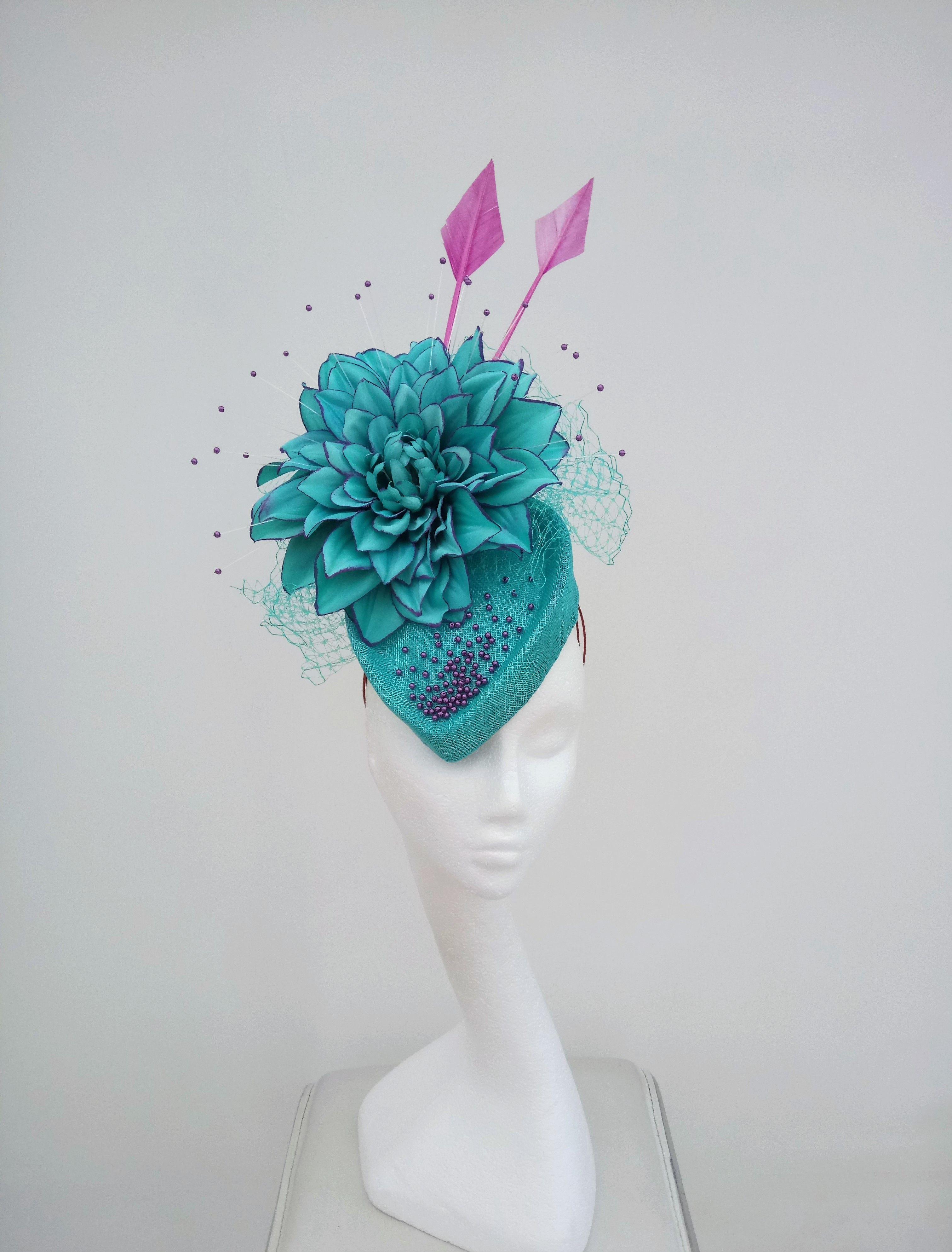 Dahlia from www.jaynealisonmillinery.co.uk #hatinator #wedding hat ...