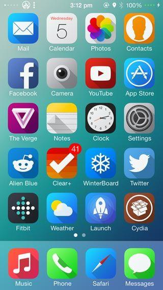 Solstice iOS 7 Winterboard Theme iOS  iCon Pinterest Ios
