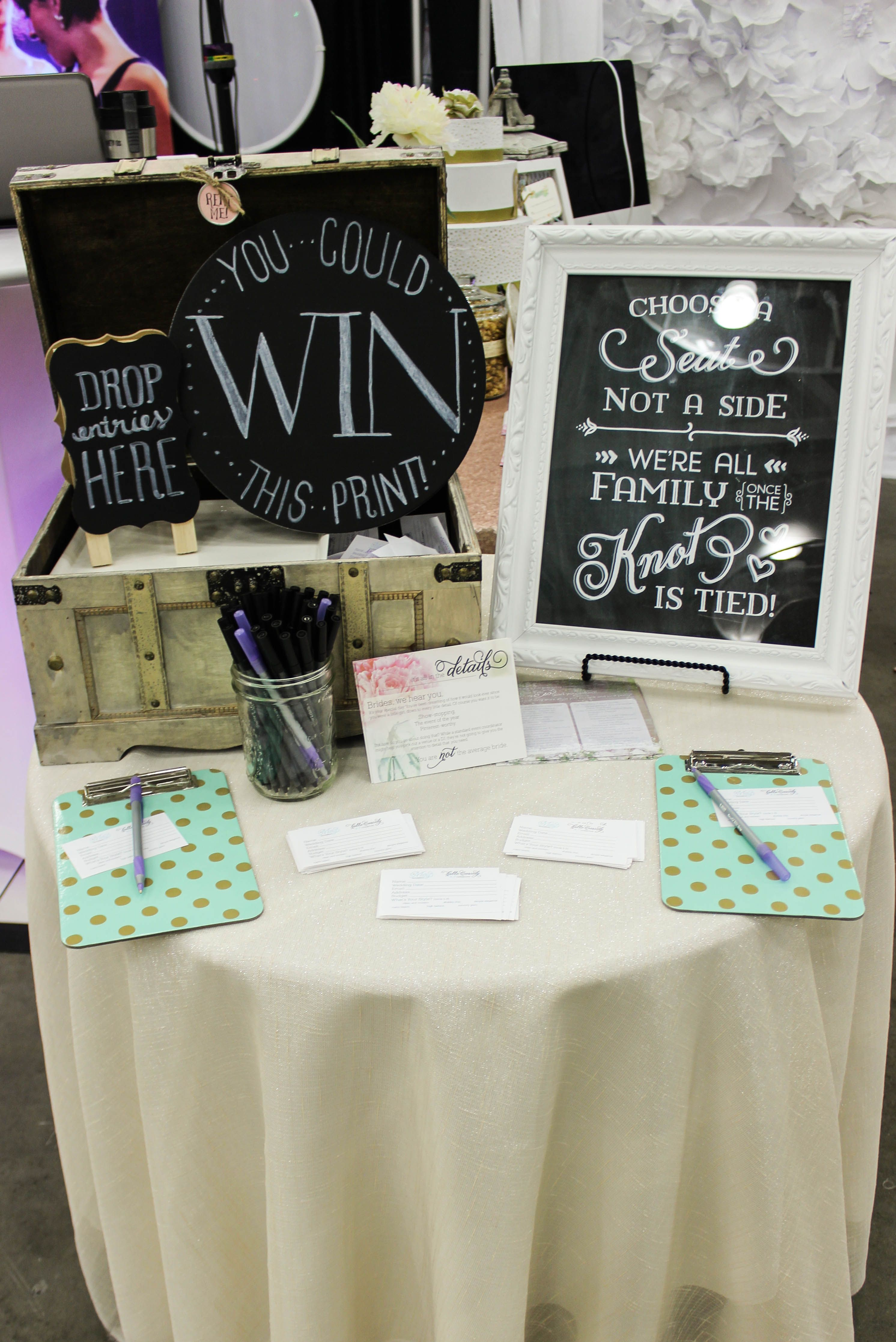 wedding trade show giveaways