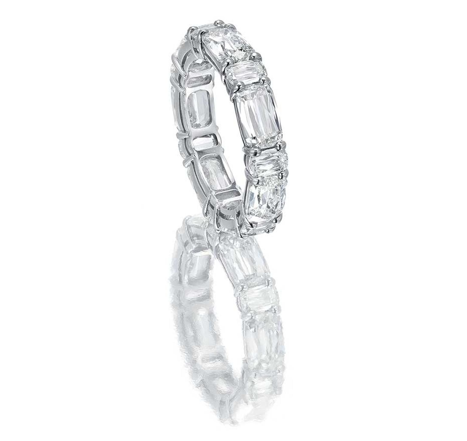 diamond volans eternity band round shining bands full diamonds wedding cut
