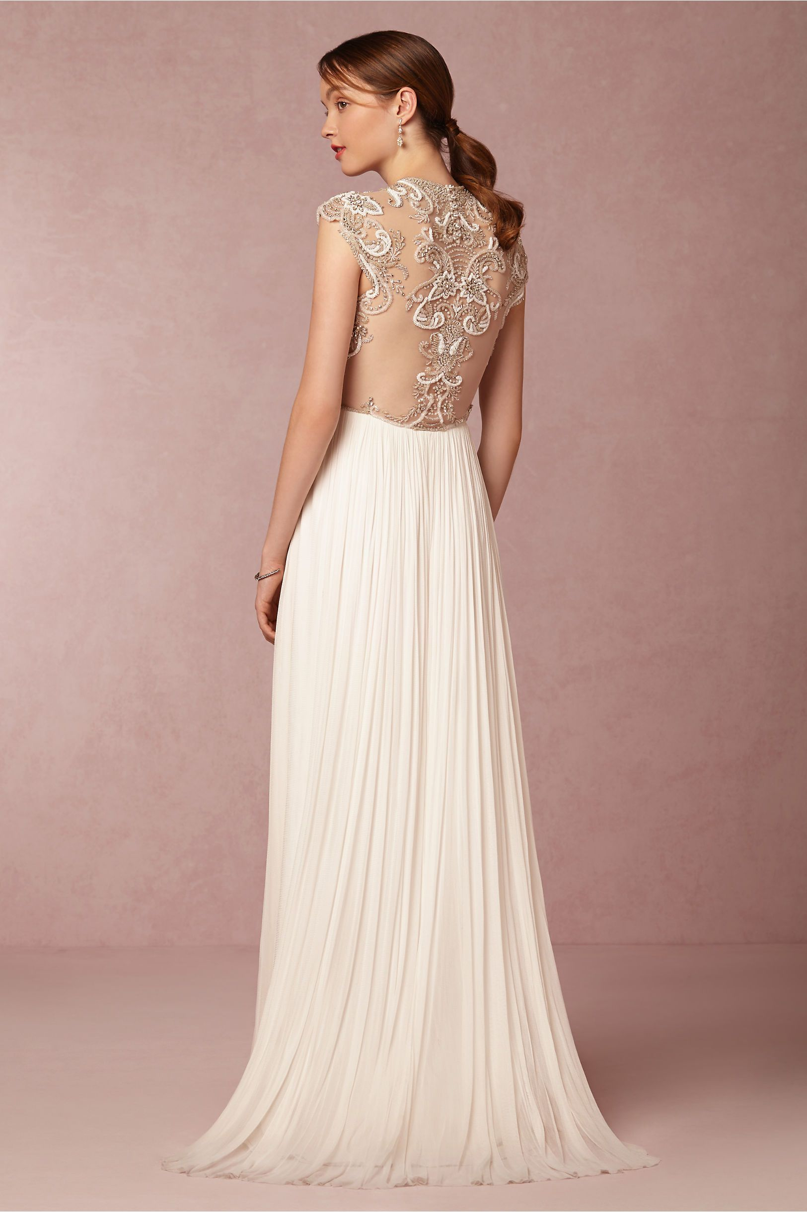 BHLDN\'s Catherine Deane Winnie Gown in Snow | Bellisima
