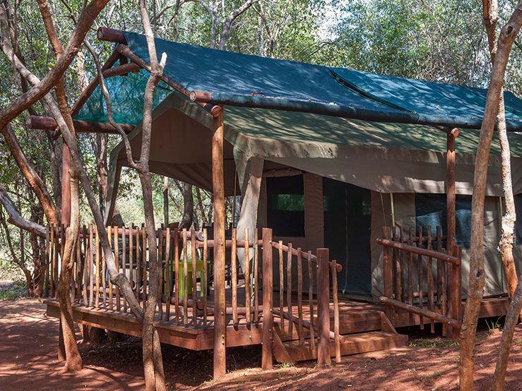 Molope Tent Camp (8) - LindaniLindani   Tent camping, Tent ...