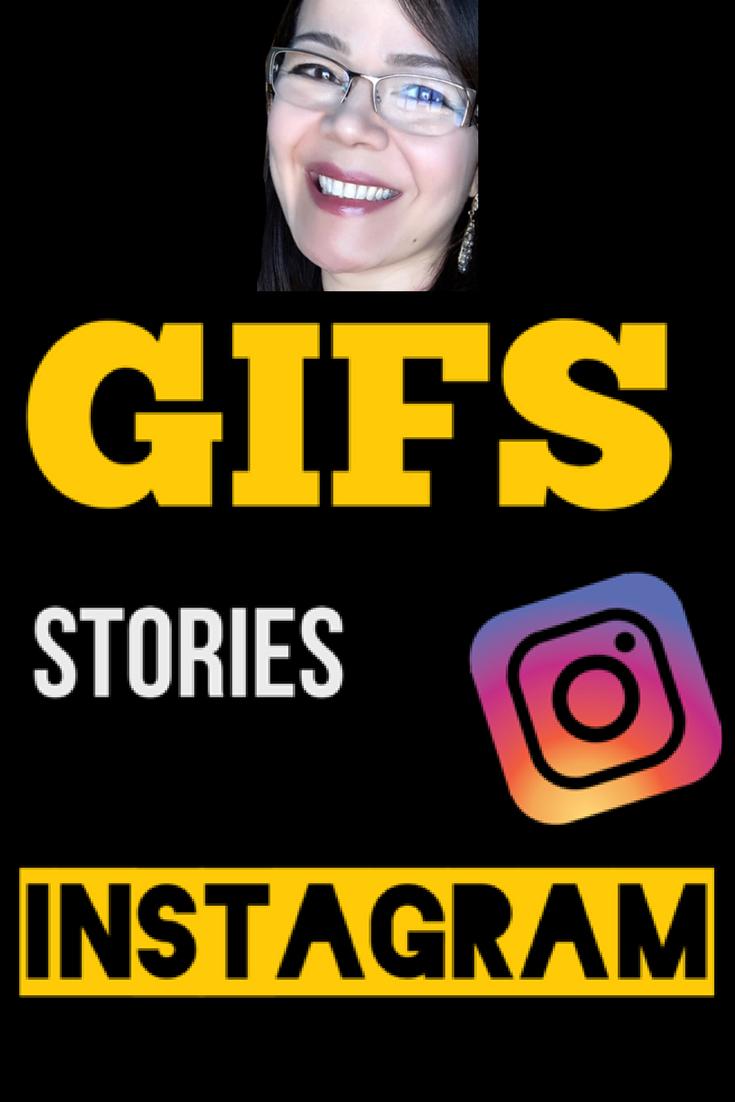 como colocar gif no stories do instagram