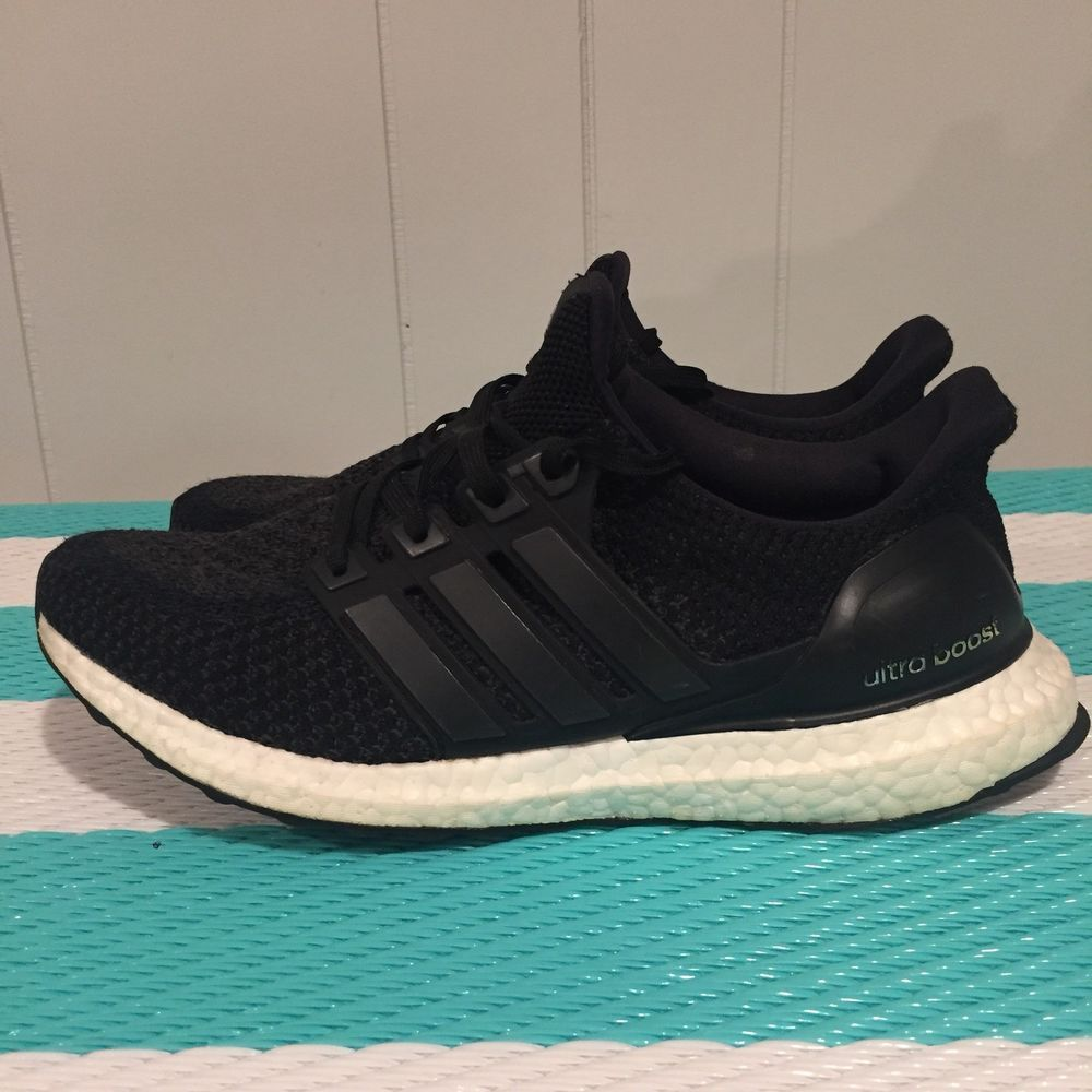 bd9fabc24 Womens Adidas Ultra Boost 2.0 Size 9 Core Black BB3910  fashion  clothing   shoes