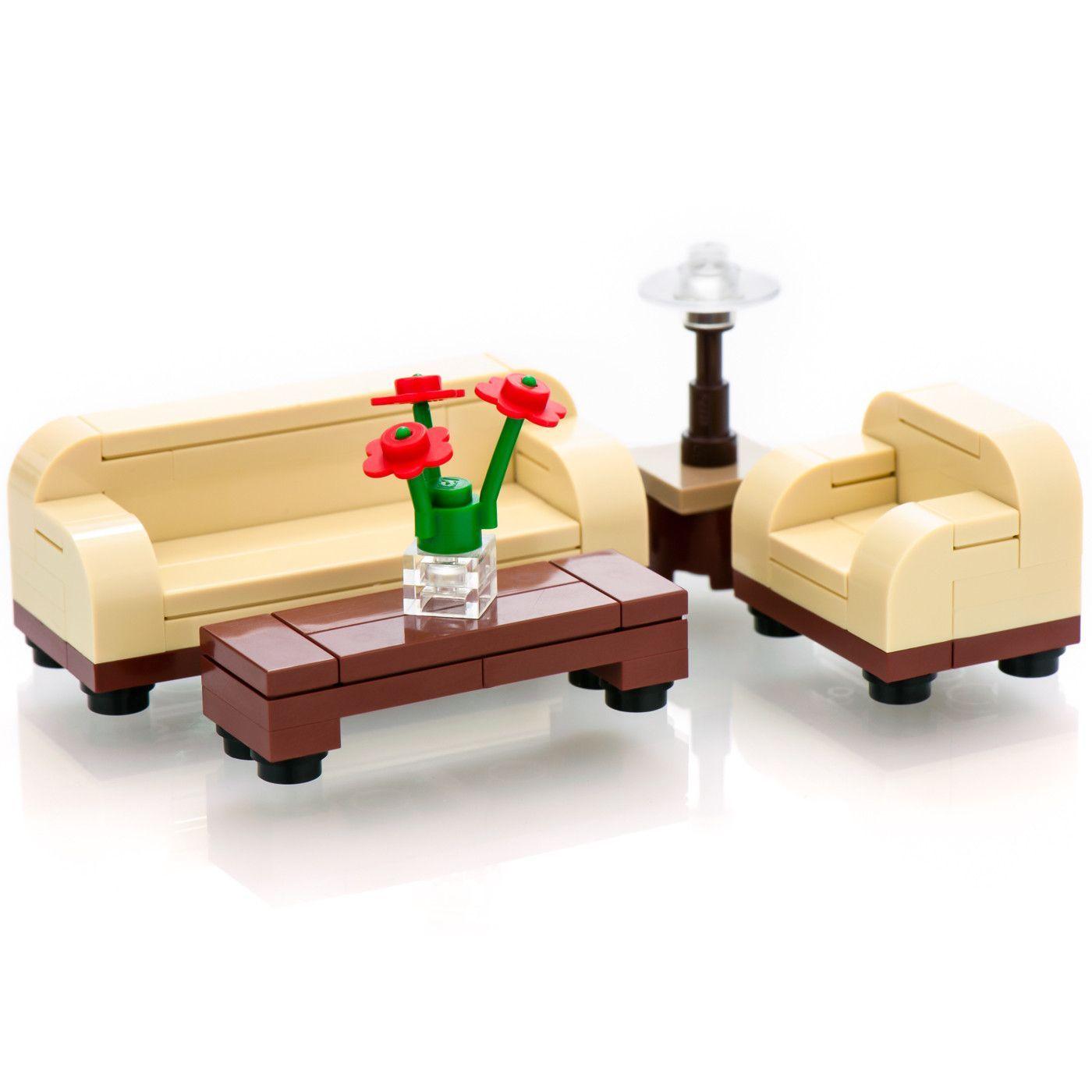Lego Furniture Custom Legoar Furniture Toy Living Room Set Lego Furniture