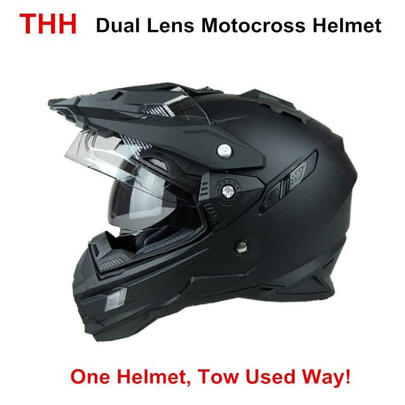 united states fashion style superior quality THH TX27 mens motorcycle helmet motocross racing helmets Dual ...