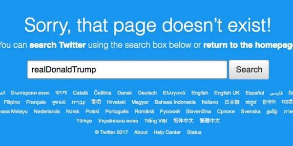 Petition Twitter Employee Who Turned Off Donald TrumpS Account