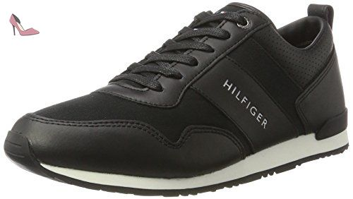 Tommy Hilfiger M2285axwell 11c2, Sneaker Basses Homme, Noir