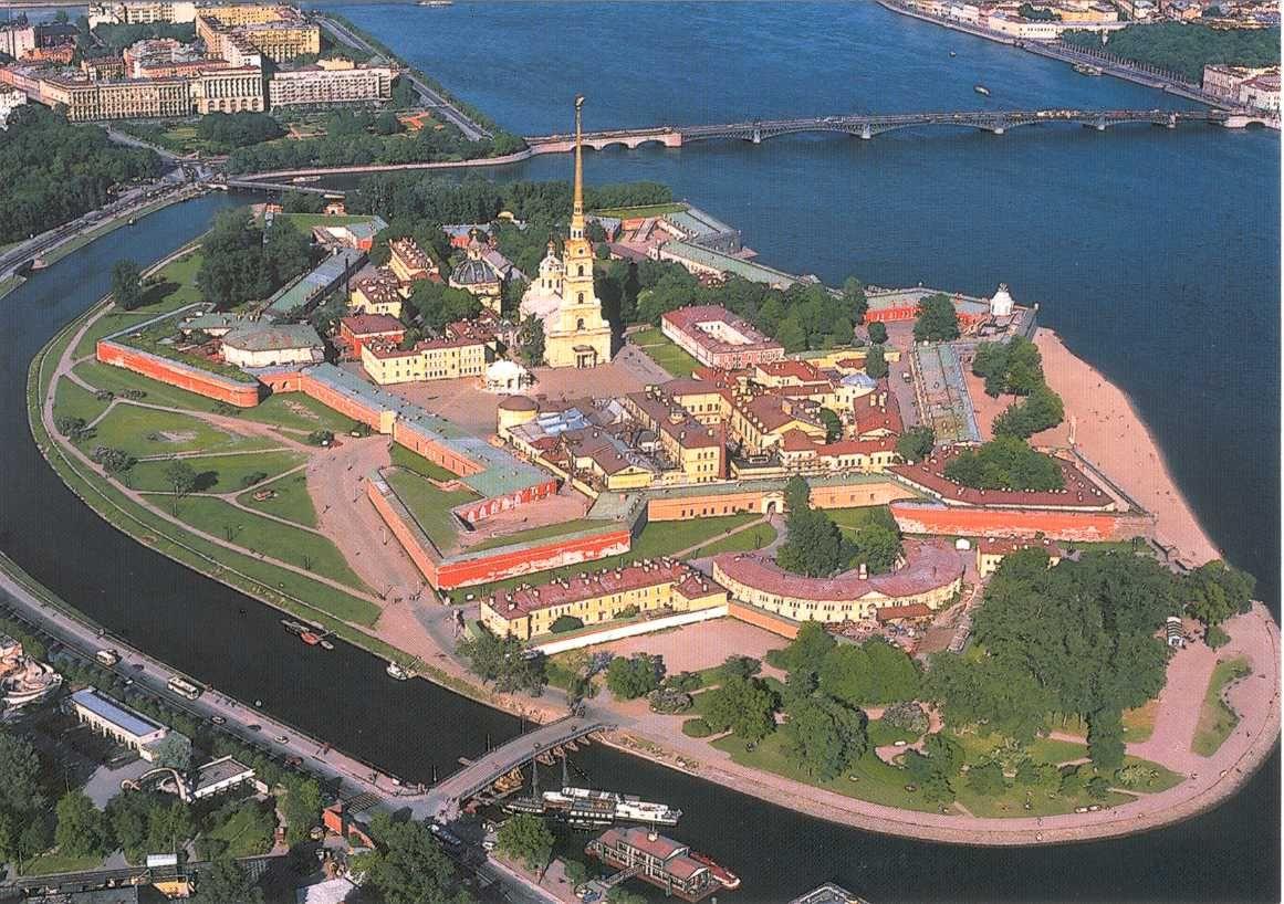 Forteresse Pierre-et-Paul de Saint-Pétersbourg (Russie) où est né ...