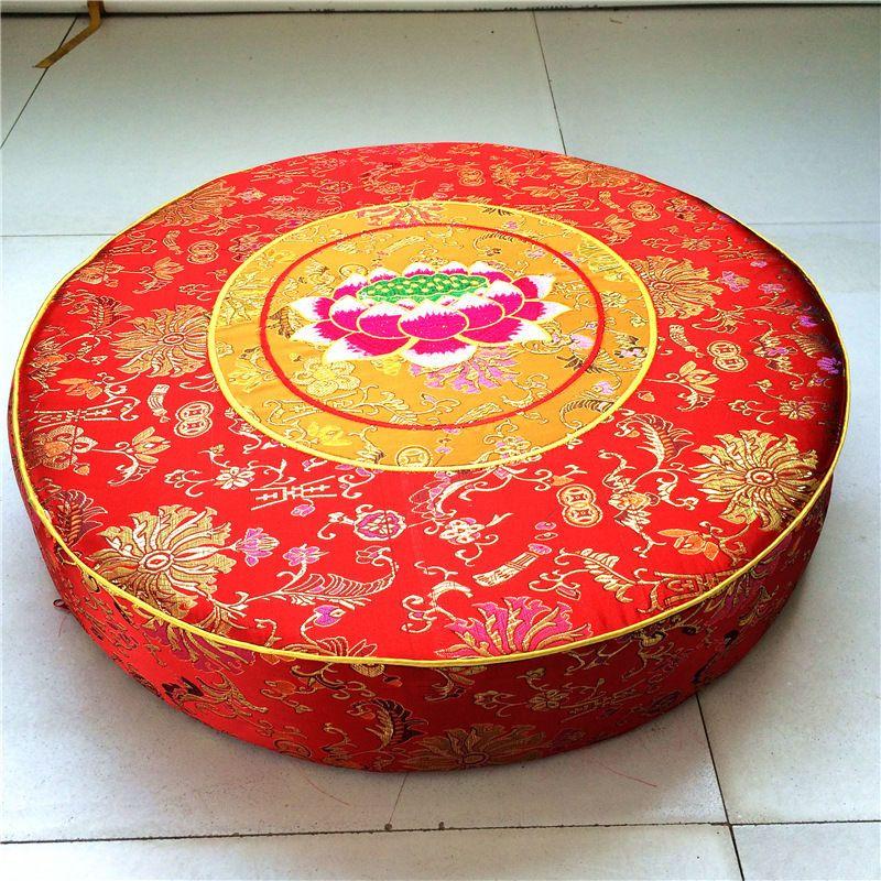 Stupendous Embroidery Lotus Meditation Cushions 21Buddhist Supplies Download Free Architecture Designs Sospemadebymaigaardcom