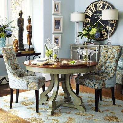 Marchella Sage Round Dining Table | Sage, Engineered Wood And Round Dining  Table
