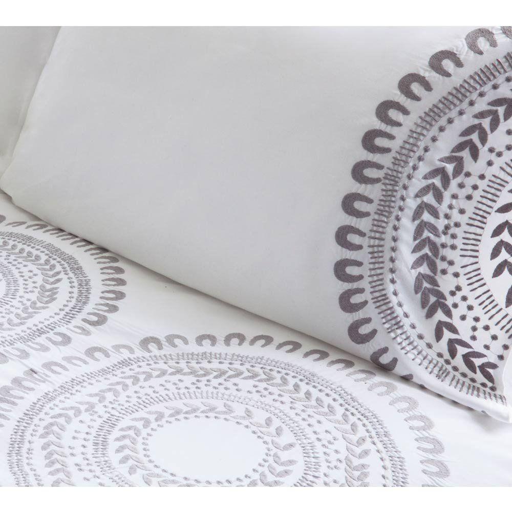 Navajo Grey Bed Linen   Luxury Bed Linen - French Bed Linen