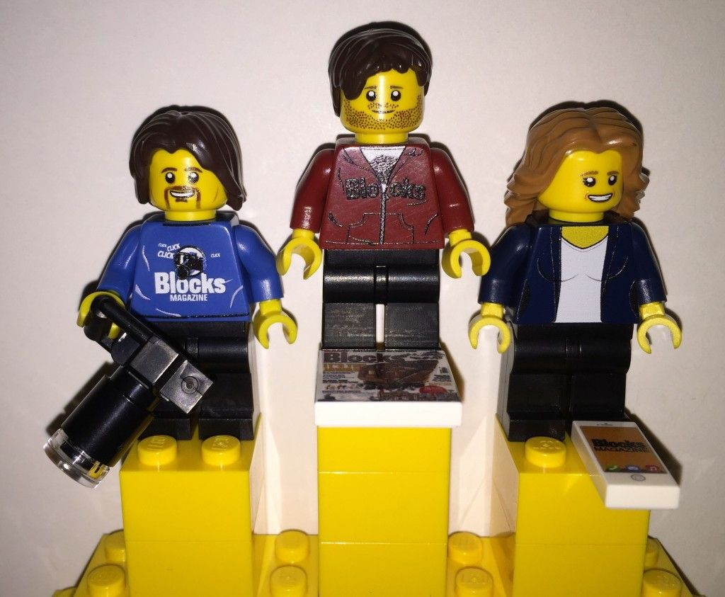 Blocks magazine has a new promotional minifigure for sale