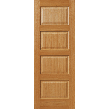 Image Of Jbk Oak Mersey 4 Panel Door 4 Panel Doors Fire Doors Panel Doors