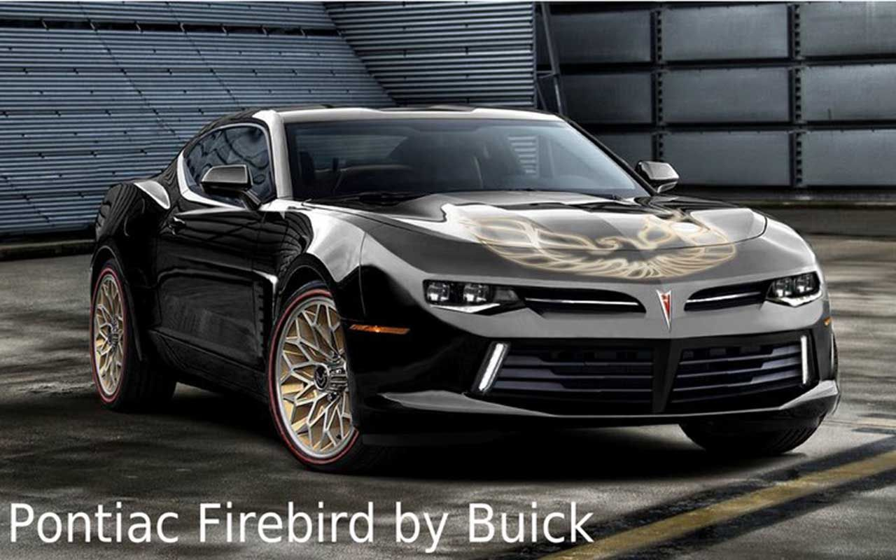 New Pontiac Firebird Concept