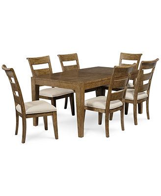 Bexley Hill 7 Piece Dining Room Furniture Set  Dining Room Prepossessing Dining Room Chairs Online Design Decoration