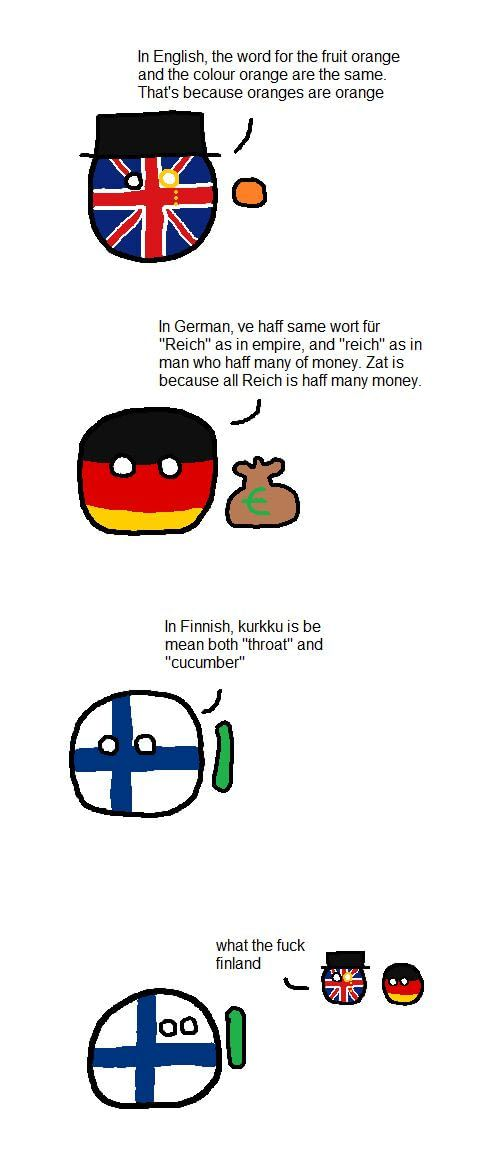 What The F K Finland Countryballs Finnish Memes Funny