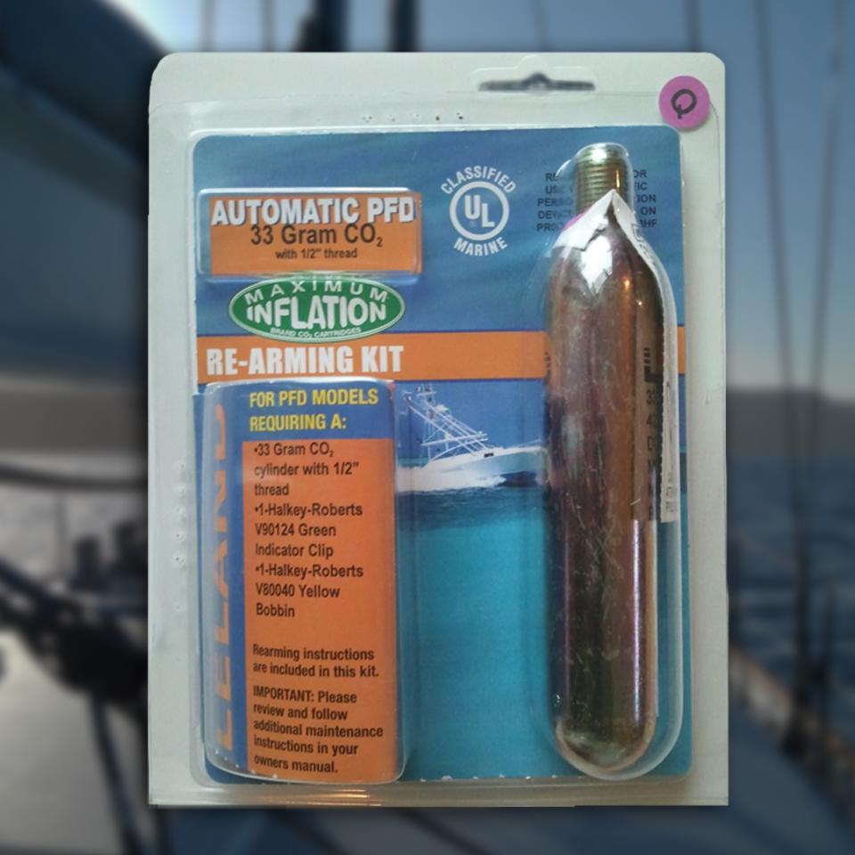 Dan buoy recharge kit uml halkey roberts 33 gram co re arming kit for dan buoys and inflatable life jackets select solutioingenieria Images