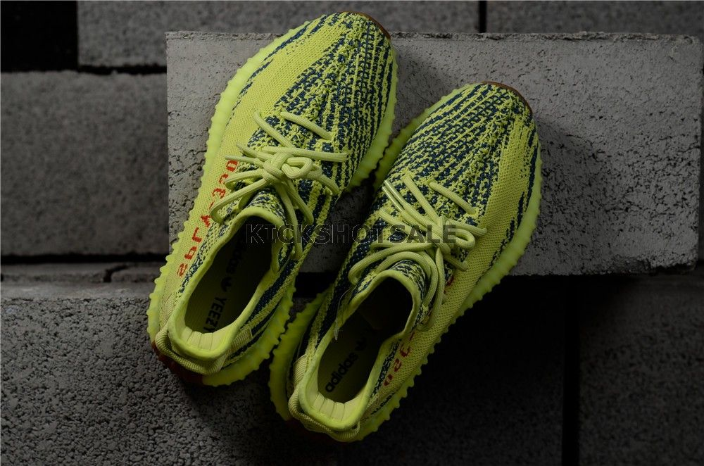 c0074d24b Adidas Yeezy Boost 350 V2 Yebra Semi Frozen Yellow B37572