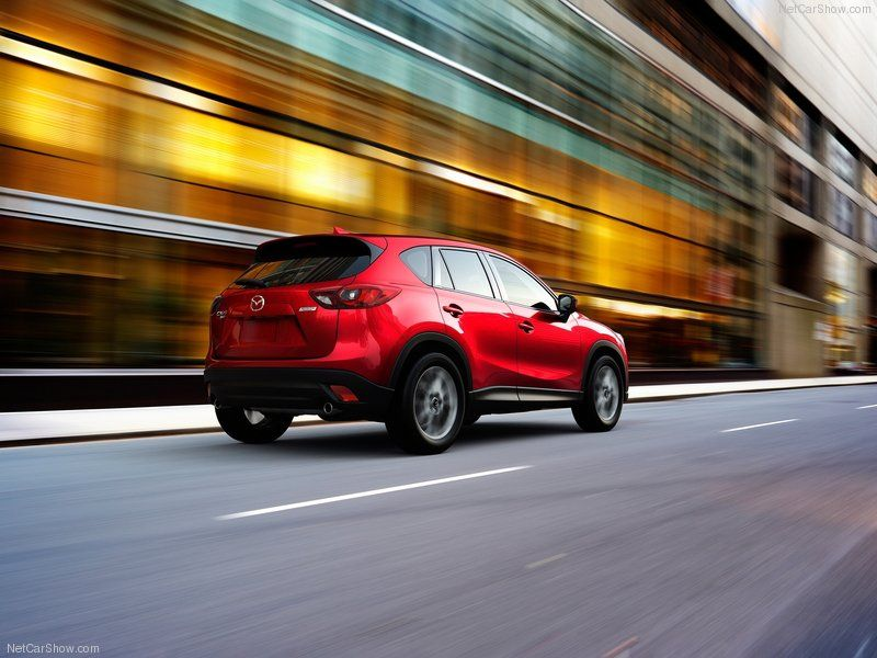 Mazda'nın makyajlanan CX5 modeli gün yüzüne çıktı