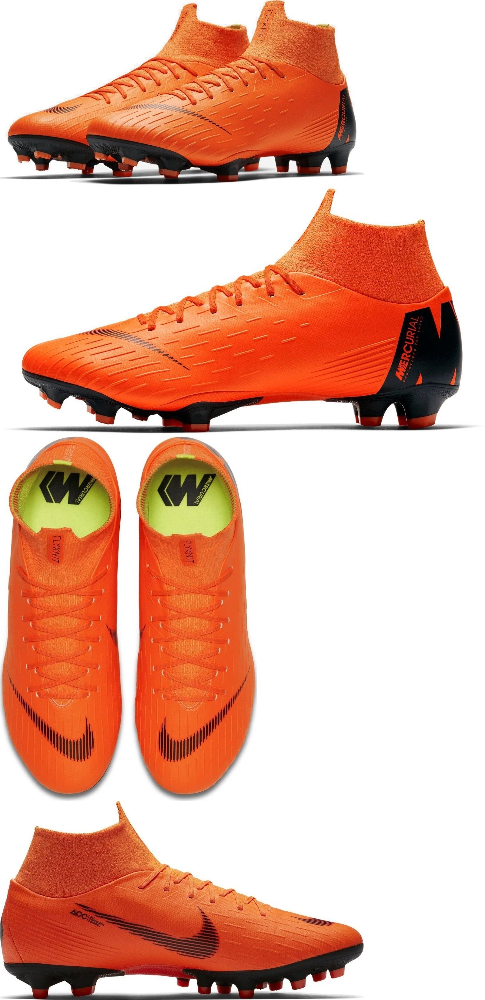 new arrival 18fcb 1ae75 Clothing Shoes and Accessories 159178  Nike Mercurial Superfly 6 Pro Fg  Orange Soccer Cleat Men S 7.5 Ah7368-107 -  BUY IT NOW ONLY   74.99 on eBay!