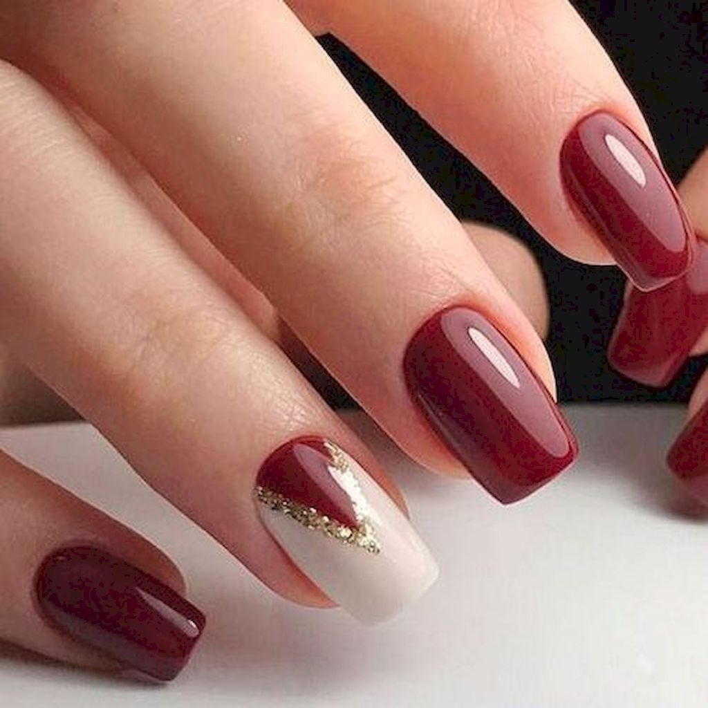 77 Easy Winter Nail Art Ideas You Should To Try Now Trendy