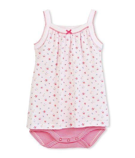 Bodies · Robe body bébé fille imprimé fleurs a31eb1c087d