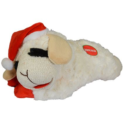 Multipet Lamb Chop Holiday Dog Toy Free Shipping Over 49