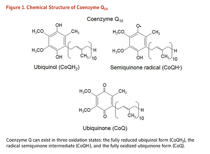 COQ 10 Figure 1. Chemical Structure of Coenzyme Q10. Coenzyme Q ...