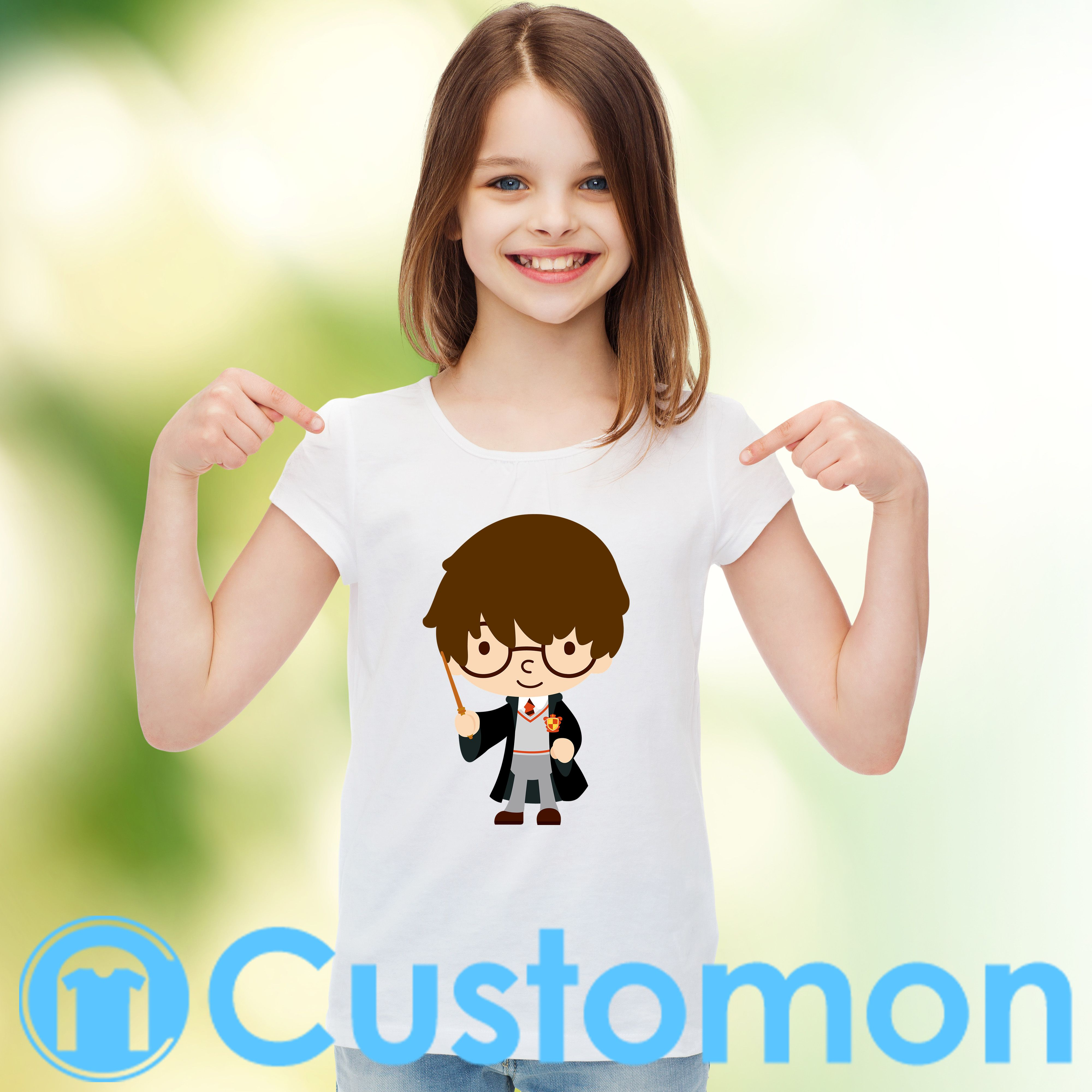 c87083a8 Harry Potter Youth T-shirt designer by #bluejean 👕 - #cartoon #harrypotter  #clipart #harry #potter #magic #albus #hagrit #ronweasley #snape #hogwarts  ...