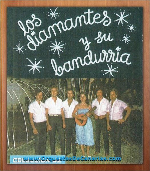 ORQUESTA LOS DIAMANTES Y SU BANDURRIA - Volumen 1 - http://orquestasdecanarias.com/orquesta-los-diamantes-y-su-bandurria-volumen-1
