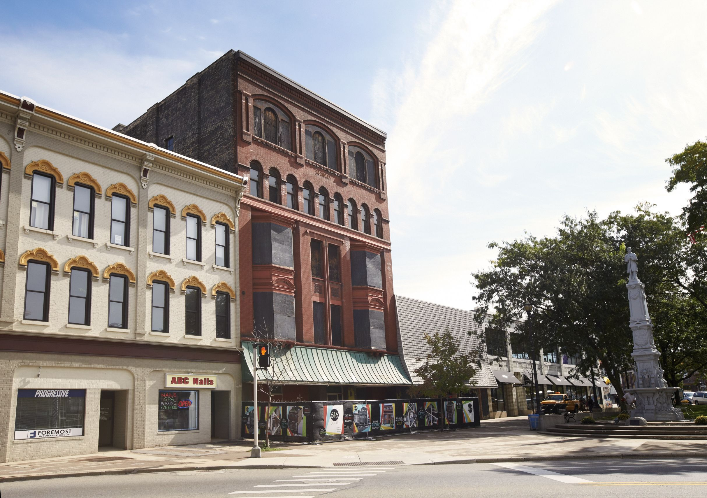 616 Lofts At The Kendall Monument Park Residential Apartments House Styles