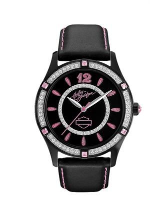 Harley-Davidson® Women's Pink Label Collection Watch 78L113