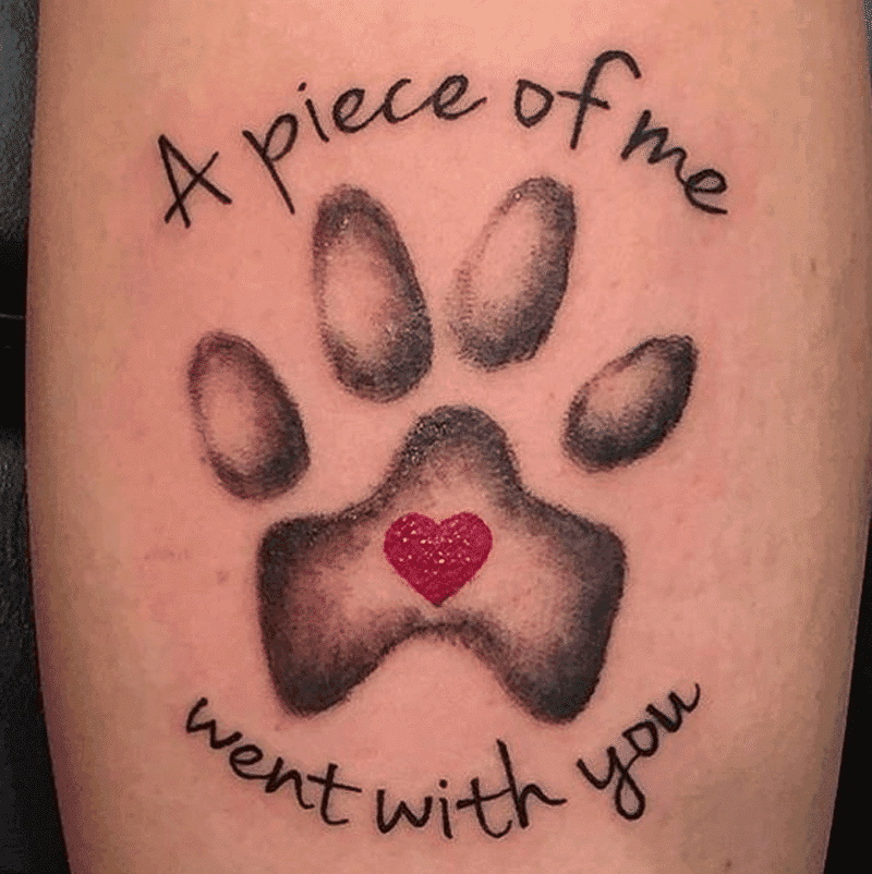Top 20 Dog Paw Tattoos To Be Cherished And Admired | Tattoos