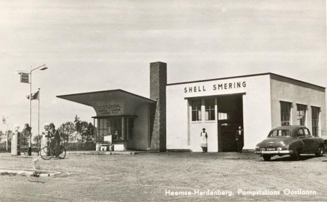 Hardenberg Nl gasstation 1953 hardenberg nl gas station service station
